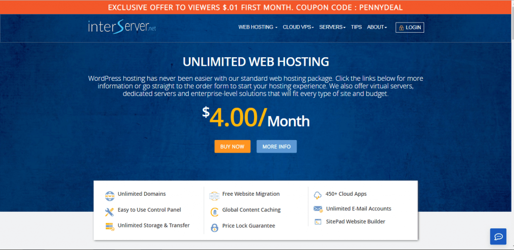 InterServer Hosting Review - Best for VPS Hosting with Unlimited Features -  Hosting Inspect